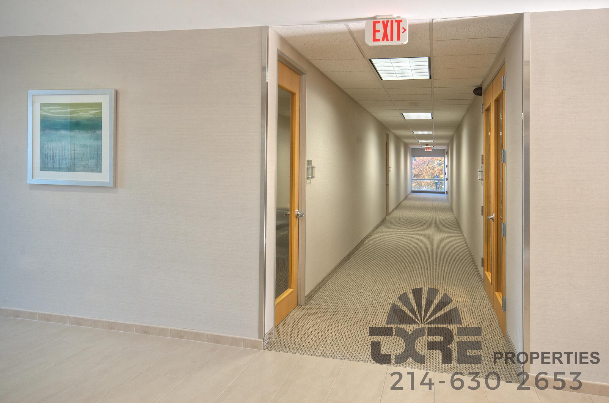 300 Decker Dr. hallways