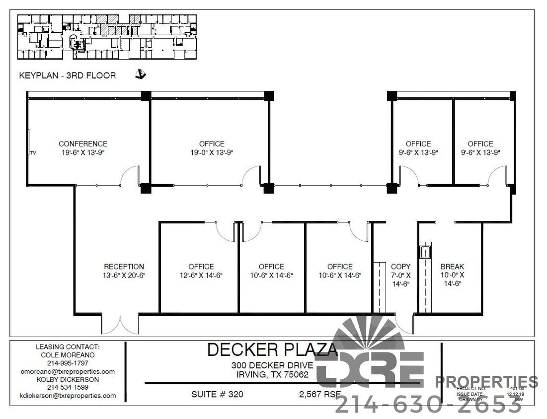 Suite 320 300 Decker Dr.